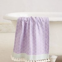 Tasseled Dayton Hand Towel by Anthropologie Lilac Hand Towel House & Home