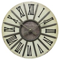 Threshold™ Segmented Clock 10""