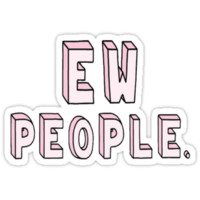 ew people Unisex T-Shirt