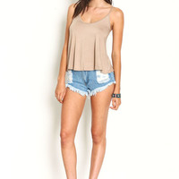 Jersey Knit Cami Top