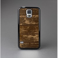 The Old Worn Wooden Planks V2 Skin-Sert Case for the Samsung Galaxy S5