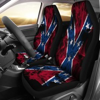 Confederate Flag Seat Covers