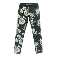 INC Womens Regular Fit Floral Print Skinny Jeans