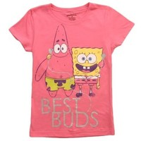 Girls Spongebob Best Buds T-Shirt