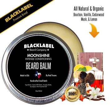 Moonshine Styling Beard Balm | Premium All Natural Beard Balm