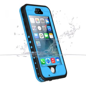 iPhone 5S/5/SE Waterproof Case, iThrough Underwater, Dust Proof, Snow Proof, Sho