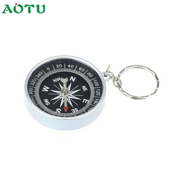 Keychain Hot Sell  Outdoor Camping Plastic Compass Hiking Hiker Navigation Fish SunDay  Levert Dropshipping Nov17
