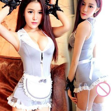2018 Sexy Cosplay Wearing Dressing Women Lolita Uniform Suit Cosplay Outfit Dress