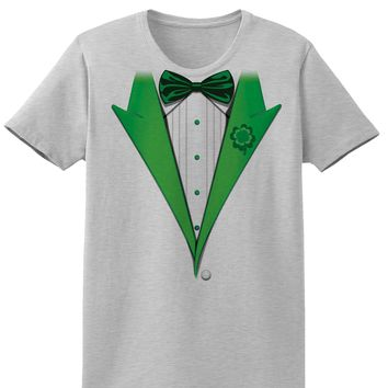 Leprechaun Tuxedo Adult Womens St. Patrick's Day T-Shirt