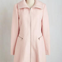 Pastel Long Long Sleeve Upper East Glide Coat