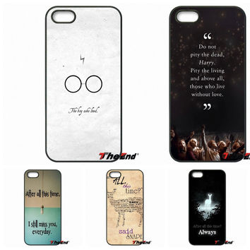 After All This Time Quote Harry potter quotes Case For Samsung Galaxy Note 2 3 4 5 S2 S3 S4 S5 MINI S6 Active S7 edge