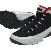 Mens Nike Air Jordan 9 Retro Johnny Kilroy Limited Edition Basketball Shoes Black / Gym red / Metallic Platinum 302370-012 Size 9