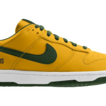detailed look 48e4c 9fb80 Nike Dunk Low NFL Green Bay Packers iD Custom