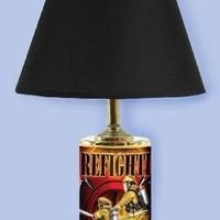 Firefighter The Tough Go In Lamp