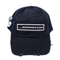 Reasonable Doubt Vintage Hip Hop Hat Black