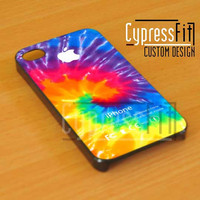 Tie Dye Design - iPhone 4/4s/5 Case - Samsung Galaxy S3/S4 Case - Black or White