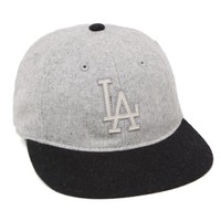 American Needle LA Dodgers Slideshow Hat - Mens Backpack - Gray - One