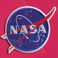 SALE Nasa Emblem Iron On Patch