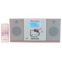Hello Kitty MP3/CD Player MICRO COMPONENT STEREO Bluetooth Stereo NIB