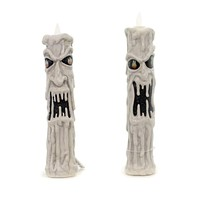 Halloween Moody Candle Sleeve Set/2 Halloween Decor