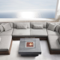 Majorca Classic Customizable Sectional