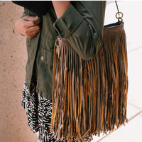 Renegade Fringe Purse