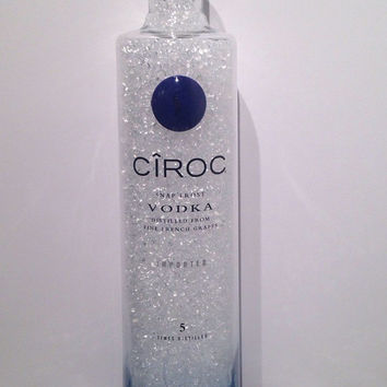 CIROC vodka bottle