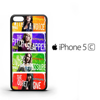 Pitch Perfect QUOTES Y1246 iPhone 5C Case