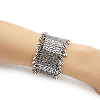 Etched Stretch Bracelet