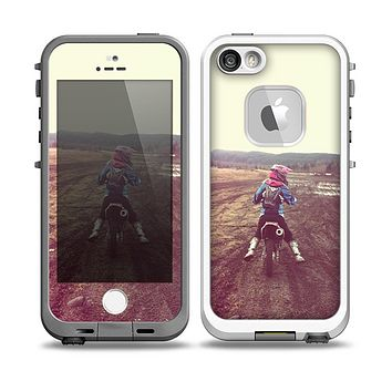 The Add Your Own Photo Skin for the iPhone 5-5s frē LifeProof Case
