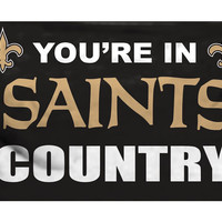 New Orleans Saints 3'x5' Country Design Flag