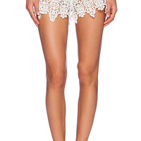 eberjey Castaway Orly Shorts in White
