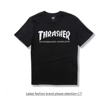 "Thrasher "" SKATEBOARD MAGAZINE "" T-Shirt"