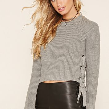 Contemporary Sweater Crop Top