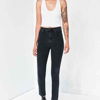 AGOLDE Roxanne High-Rise Skinny Jean - Washed Black - Urban Outfitters
