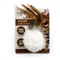 All For Paws Cat Toy Snow Ball