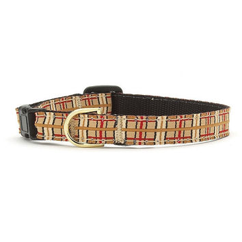 Up Country Plaid Cat Collar