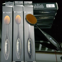 Oval Brush Anastasia Beverly Hills Oval Makeup Brush Cosmetic Foundation Brushes with Logo BB Cream Powder Blush Makeup Tool Easy to Operate