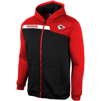 Kansas City Chiefs Youth Resilient Unbreakable Full Zip Hoodie - Red - http://www.shareasale.com/m-pr.cfm?merchantID=7124&userID=1042934&productID=554329928 / Kansas City Chiefs