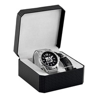 New York Giants NFL Men's Cage Series Watch