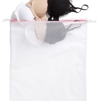 Women's Nordstrom Intimates Large Lingerie Wash Bag - White