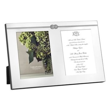 Vera Wang Infinity Double Invitation Picture Frame | Nordstrom