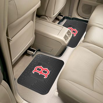 "MLB - Boston Red Sox 2-pc Utility Mat 14""x17"""