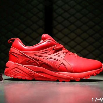 ASICS GEL-KAYANO TRAINER Women Men Running Sport Shoes Sneakers B-SSRS-CJZX Red