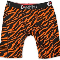 Ethika The Staple Tiger Orange & Black Boxer Briefs