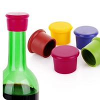Wine Bottle Stopper Silicone Bar Tools Preservation Wine Stoppers Kitchen Wine Champagne Stopper Beverage Closures