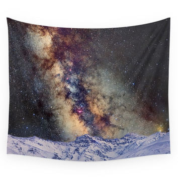Society6 Sagitario Scorpio And The Star Antares O Wall Tapestry