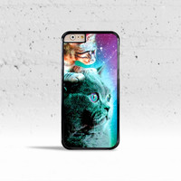 Cat & Kitten Stellar Nebula Show Case Cover for Apple iPhone 4 4s 5 5s 5c 6 6s Plus & iPod Touch