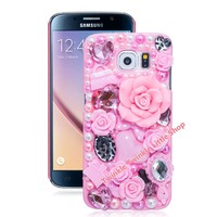 3D Crystal Case For Samsung Galaxy S8 S8 plus S7 edge S6 S4 S5 S6 edge S7 Note7 5 4 3 2 Cover Phone Cases Accessories Protector