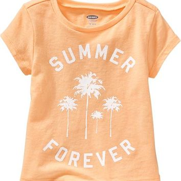Old Navy Graphic Tees For Baby